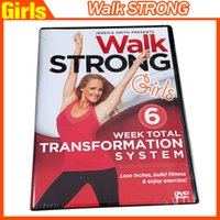 Wholesale New Walk Strong Week Total Transformation System Workout Fitness dvds Disc Set Fitness Videos workout fitness dvd Drop shipping