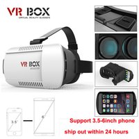 Wholesale Professional Google Cardboard Original xiaozhai Brand VR BOX Virtual Reality Glasses d Movies Games for quot quot Smart Phone
