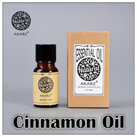 Wholesale AKZRZ Famous Brand Pure Natural Aromatherapy Cinnamon Oil Essential Oil Tighten The Skin Soothe The Digestive Tract Y097