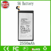 galaxy s battery - Original OEM S6 Battery EB BG920ABE For Samsung Galaxy S6 S VI SM G920 G920 Batteries mAh