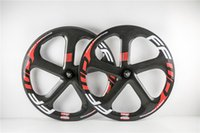 Wholesale ruedas carbono carretera mm roue carbone carbon spoke front rear wheel for road bike and fixed bike