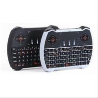 Wholesale Hot new V6A R6 Mini Wireless Keyboard G with Touchpad Backlit Backlight Keyboard for MXQ Pro M8S S905 Android TV