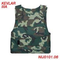 Wholesale New Arrival Body Armor Camouflage Tactical Vest Combat Bulletproof Vest Kevlar NIJ IIIA Safety Ballistic Vest ME0003
