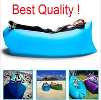 air mattress - 2016 Fast Inflatable Lamzac hangout Air Sleep Camping Bed KAISR Beach Sofa Lounge Only Need Ten Seconds Sleeping bags Lazy Chair