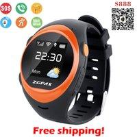 Wholesale ZGPAX S888 Bluetooth WiFi Smart Watch Waterproof Old Man Child Anti lost Smartwatch Tracker GPS Watch Sim for Android IOS