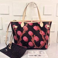 Wholesale 32cm Bag Top Quality Famous brand bag Pink Red inside Luxury bag M41603 shoulder bag women shopping bag with pouch