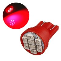 Wholesale High Quality White Red Blue T10 W5W SMD LED Car Auto Wedge Side Lights Lamp Bulb