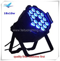 Wholesale 18x10w feituo par w rgbw in led parcan for disco ktv wedding consert use