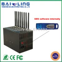 Wholesale Newest Hot Cheapest GSM bulk sms Modem Q2303 Q2406B Port USB bulk sms Modem Pool Fast Delivery amp Factory Price