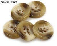 Wholesale mm mm Plastic holes buttons Men and women windbreaker jacket buttons High grade resin button