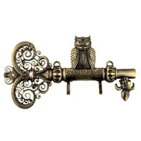 Wholesale wall clothes rack cloth hook wall hook Robe Hook for Bathroom Accessory Hanger Single shipping cute owl hooks