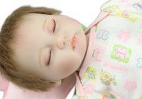 baby silkworm - New design soft real touch reborn dolls sleeping baby doll lifelike Silkworm