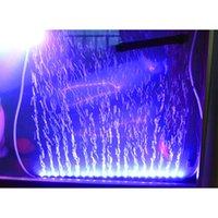 55cm 5.2W 21 светодиодов Bubble освещение аквариума 120 градусов RGB 15 цветов IP68 Погружной пульт дистанционного управления Fish Tank светодиодные фонари Бар