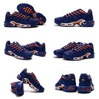 air indigo - Drop Shipping POPUPLAR Air Plus T N Indigo Orange Men s Sports Running Athletic shoe Size