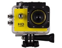 Wholesale new arrival outdoor sports camera fps Extreme Action Camera WiFi HD DV Sport DVR Video Yellow