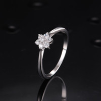 Wholesale Star Harvest High quaility cz silver ring jewellery with cheap price silver engagement ring s