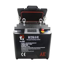 ak free - 2016 Black Version Inch AK OCA Vacuum Laminating Machine Bubble Removing Integrated Machine With Free Separator Machine and Other Tools