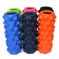 Wholesale x15cm EVA Grid Foam Massage Roller Yoga Pilates Fitness Physiotherapy Rehabilitation