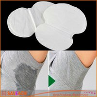 Wholesale 1 Pair Disposable Absorbing Underarm Sweat Guard Pads Deodorant Armpit Sheet Dress Clothing Shield Sweat Perspiration Pads que