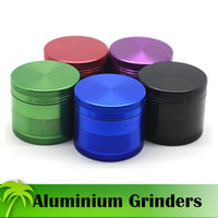aluminium services - Top Quality Aluminium Grinders mm mm Piece Grinder Tobacco Herb Spice Crusher Bright Colors OEM Service Available