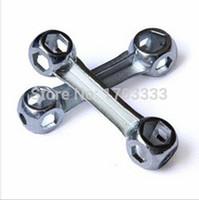Wholesale 500PCS Durable Dog Bone Shape Bicycle Mountain Bike Repair Tool Bone Shape Torque Wrench With Hexagon Holes