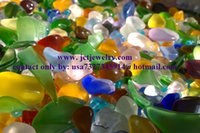 art craft beads - 1 Lb Bulk Beach Sea Glass Beads Supply for Jewelry making Art Decorative Crafts Multicolor Mixed JCT ECO
