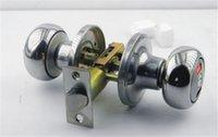 bathroom locks - Lock Room Door Lock With No Bathroom Lock Three Lock Room Door Lock Indoor Lock Three Lever Type Toilet Round Hole