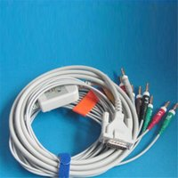 Wholesale EKG Cable with Leadwires Bnanan AHA kohm Resistance for Schiller Top Quality CMD0146A