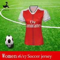 arsenal ladies - lady Soccer women Thailand Quality Women s Arsenal jerseys kit Away home RD goalkeeper Jersey WILSHERE OZIL WALCOTT RAMSEY ALEXIS