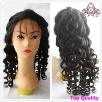 Wholesale lace front human hair wigs Brazilian hair with baby hair glueless capless hair wigs natural wave new natural color