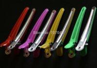 Wholesale 100pc super quality hair clips for hair dressing salon families DIYCrocodile Duckbill hair clips hair dressing clips
