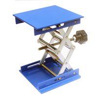 Wholesale 4 quot Aluminum Lab Lift Lifting Platforms Stand Rack Scissor Lab Jack Lab Lifting