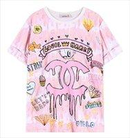 japanese fashion clothing - 2015 Fashion Trends New Japanese T Shirt Women Cartoon Summer Tops Big Size Kawaii Cute T shirt Female Clothing Drop Shipping