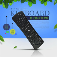Wholesale Wireless Keyboard T6 Mini Air Mouse Ghz Gyroscope Remote Control Combo for M8 MXQ CS918 MXIII Android TV Box Media Player PC