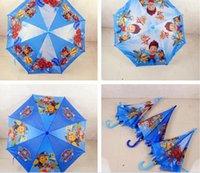 Wholesale new popular kid favorite Teenage Mutant Ninja Turtles pet patrol star wars cm beach Umbrella umbrellas Rain and Sun Proof