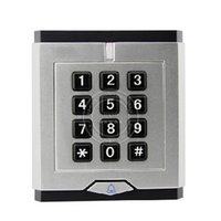 bell contacts - RFID EM Card Reader with Keypad with Bell Key for Access Control System ID Card Keyfob Reader Wiegand26 Contact CU K
