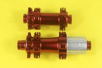 Wholesale Powerway M32 straight pull MTB disc hubs holes Front qr mm Rear mm qr mm X12 thru s XX1