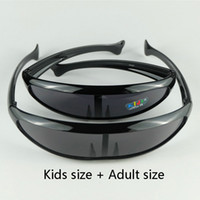 big green help - The Toy Sunglasses Shield Style Big And Small Fishes Design Alien Eyewear Family Set Help You Close To Your Kids
