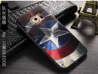 apple batman - iphone case d cartoon print cases batman superman spider man captain America royal emblem totem cellphone cover for xiaomi mi4 huawei