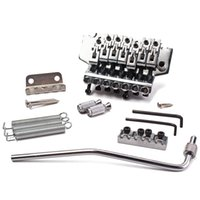 Wholesale 7 strings Chrome Guitar Tremolo Bridge Double Locking System right