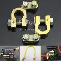 Wholesale Auto Car Replacement Battery Terminal Clamp Clips Brass Connector Hot Sell