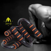 Wholesale New Fashion New Body Building Equipment Push Up Bar Pushup Stands Grip Home Gym Training Fitness Equipments