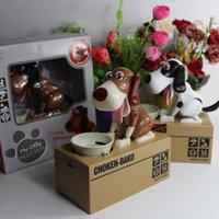 animal robotics - Piece With Retail Box Choken Bako Robotic Dog Bank Doggy Coin Bank Canine Money Box For Dog Lover