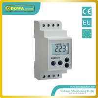 Wholesale LCD Display Electronic Motor Voltage protection Relay with multi protective function