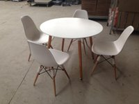Wholesale eames chair and table set coffee table and chair restaurant chair and table banquet chair and table