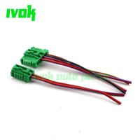 Wholesale High Quality NEW Blower Motor Heater Fan Resistor Connector Wire For Nissan Tiida Livina Citroen Peugeot Renault