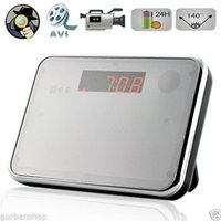 Wholesale Digital Mirror Table Alarm Clock Hidden camera with Motion Detection Digital Alarm Clock DVR Spy Hidden Camera