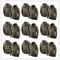 Wholesale Cheap Pink Hoodie - 2016 New Cheap Men's Oakland and Raiders 4 Derek Carr 52 Mack 89 Cooper 24 Woodson Olive Green America Football Pullover hoodies Sweatshirts