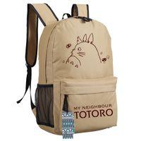 Wholesale My Neighbour TOTORO Backpack Unisex Oxford Hot Anime Game Teenagers School Bag Shoulders laptop Bag Styles