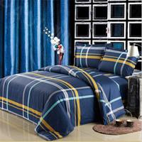 aloe blue - Aloe Cotton Reactive Printed Duvet Cover Bedding Set